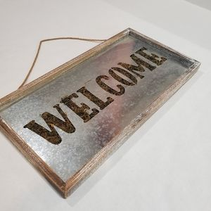 """Farm House style """"Welcome""""  Sign"""